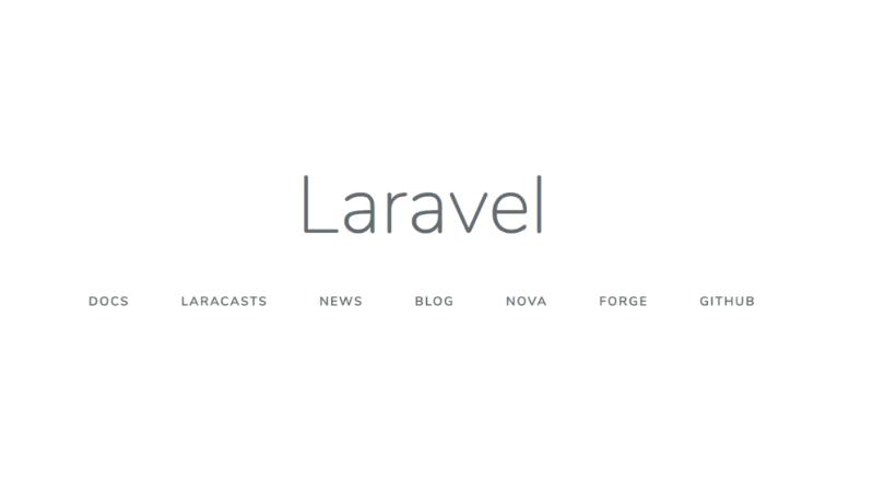 【Laravel】Laravelのローカル環境構築(Mac)