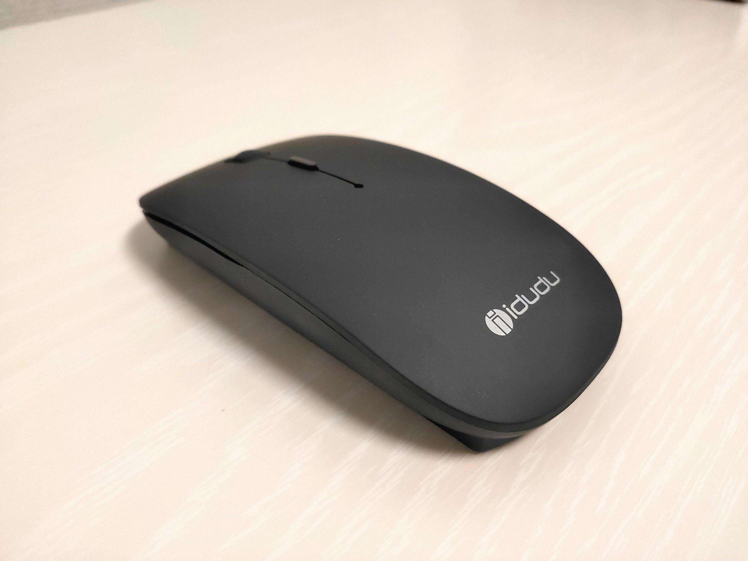 【idudu ワイヤレスマウス レビュー】充電式ワイヤレスマウス+USB-Cアダプタも付属!